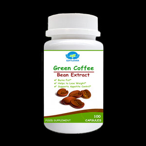 Slimming Support,Pure Green Coffee Bean Extract,1600mg Max Strength Weight Loss Burning Fat, - 100pcs/bottle