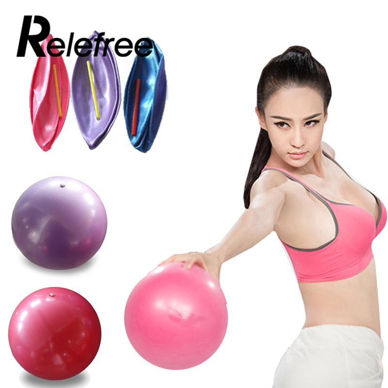 Relefree 25cm Mini Exercise Pilates Balance Training Yoga Gym Health Ball Sport Yoga Fitness Balls
