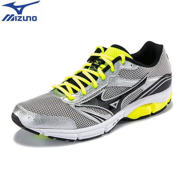 MIZUNO Men WAVE IMPETUS 3 Jogging Running Shoes Mesh Breathable Sneakers Light Weight Cushion Sport Shoes J1GR151302