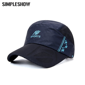 Brand Quick Dry Golf Casquette Baseball Cap Men Women Snapback Hat Outdoor Sport Mesh Unisex Breathable Bone Baseball Cap