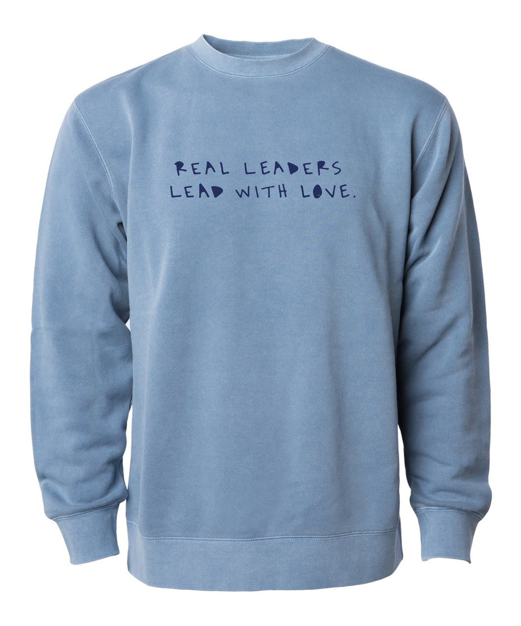 Real Leaders Embroidered Sweatshirt
