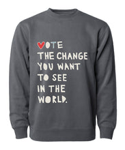 Load image into Gallery viewer, Vote the Change Sweatshirt
