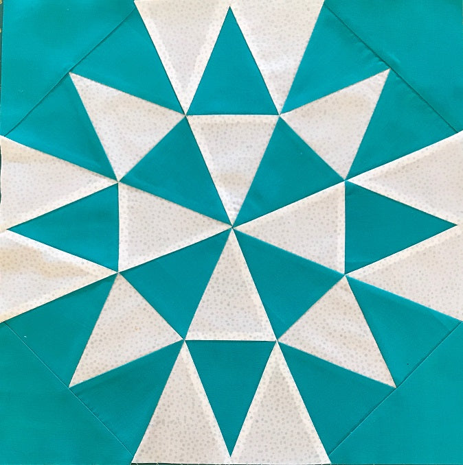 Design Your Own Quilt Block with the Westalee 8 Point Crosshair Square (Drawing Foundation Patterns) - With Kate Quinn Friday