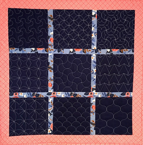 Rulerwork with Grids: A Sashiko Journey - With Kate Quinn - Saturday