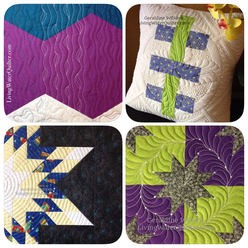 Secrets of Quilt As Desired - With Geraldine Wilkins - Friday or Saturday