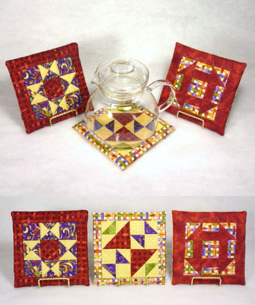 Hot Spot Quilted Trivet- With Pam Bocko - Saturday