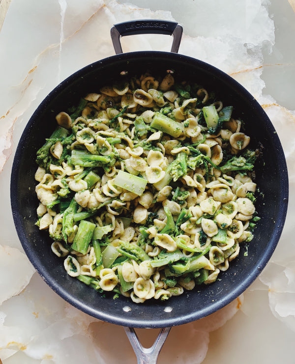 Orecchiette con le Cime di Rapa or Pasta with Broccoli Rabe