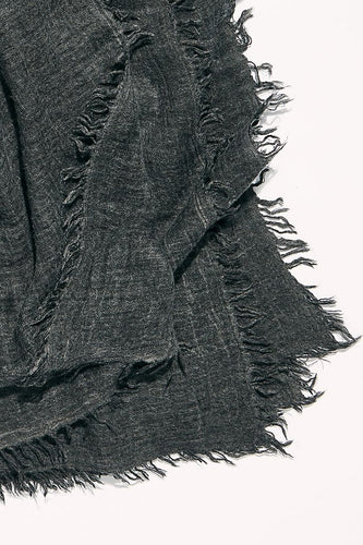free people sun washed travel scarf washed black