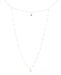 b.b. lila twinkle twinkle gold necklace