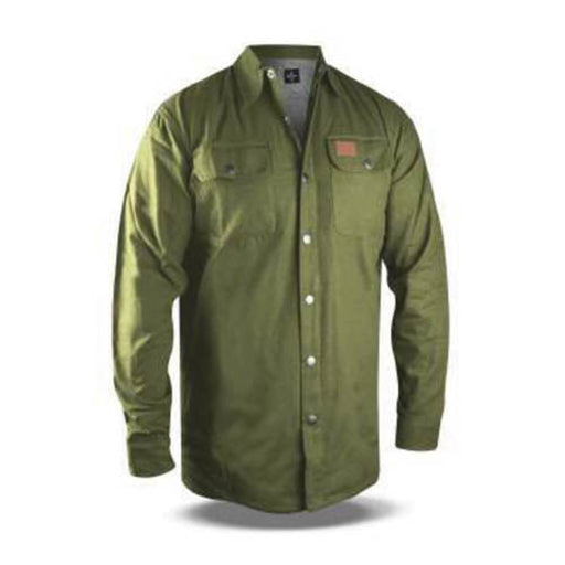 No Bad Ideas Apparel McClane Canvas Jacket (Olive)