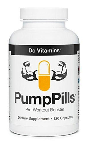 PumpPills Nitric Oxide Supplements