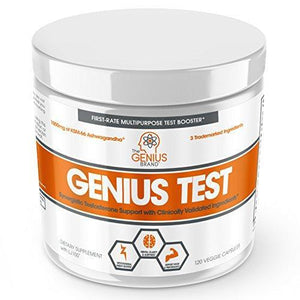 GENIUS TEST - The Smart Testosterone Booster For Men