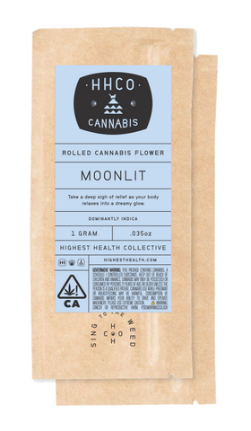Rolled Cannabis Flower<br/>- Moonlit
