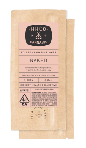 Rolled Cannabis Flower<br/>- Naked