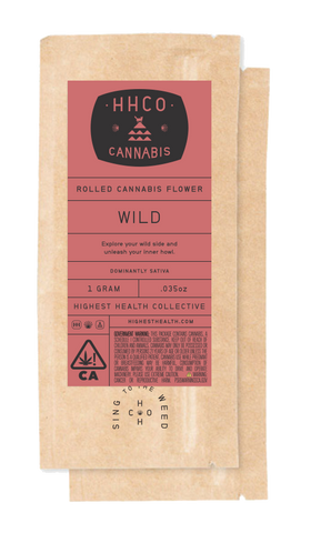 Rolled Cannabis Flower<br/>- Wild