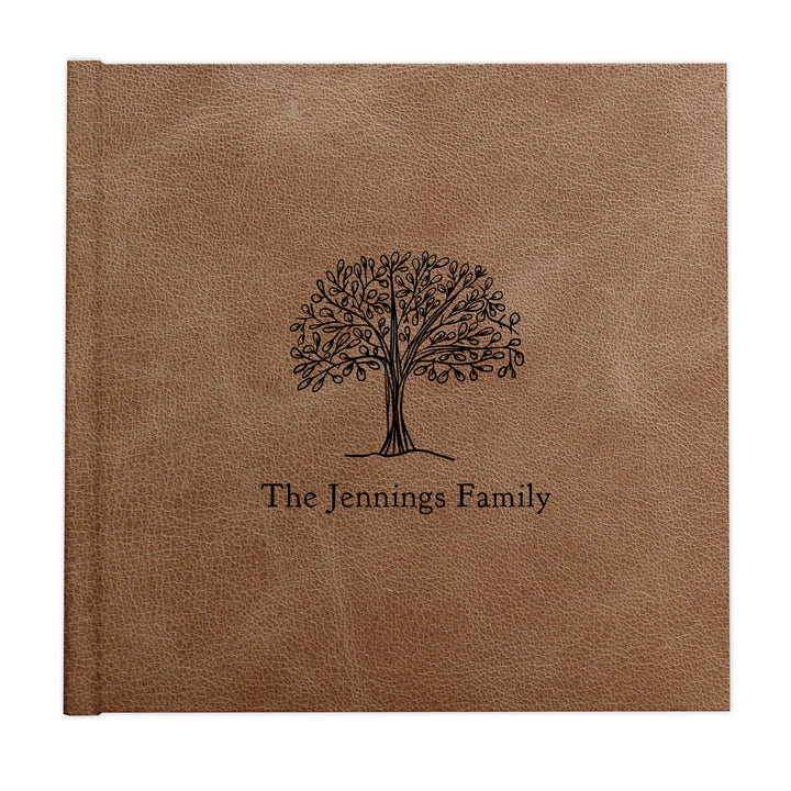 Family tree custom illustrated album cover design by The Alice Files.