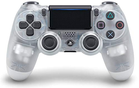DualShock 4 Wireless Controller for PlayStation 4 - Crystal: Video Games