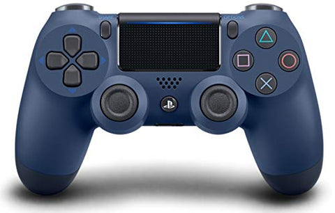 DualShock 4 Wireless Controller for PlayStation 4 - Midnight Blue: Video Games