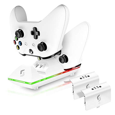 Sliq Xbox One/One X/One S Controller Charger Station and Battery Pack