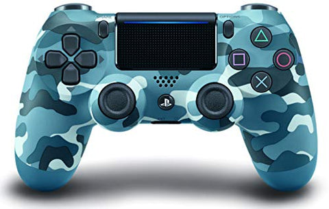 : DualShock 4 Wireless Controller for PlayStation 4 - Blue Camouflage: Video Games