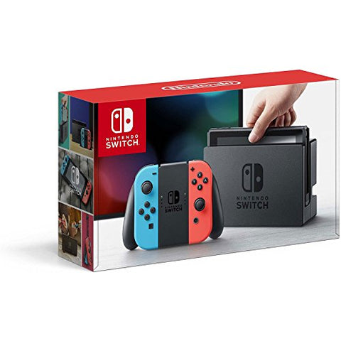 Nintendo Switch – Neon Red and Neon Blue Joy-Con: Video Games