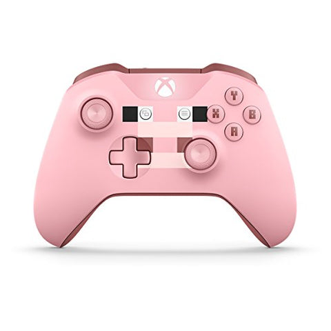 Xbox Wireless Controller - Minecraft Pig: xbox one: Video Games