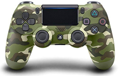 DualShock 4 Wireless Controller for PlayStation 4 -  Green Camouflage: Video Games
