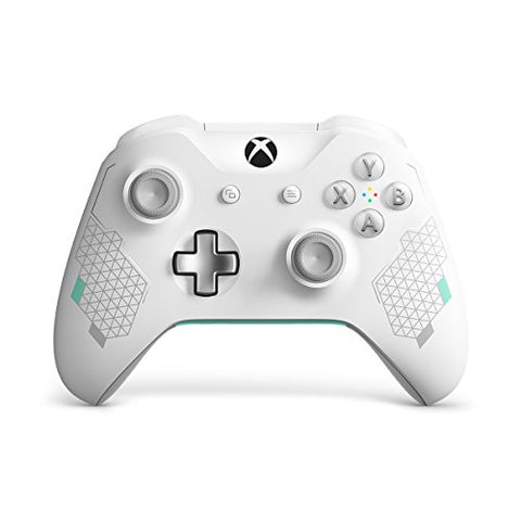 Xbox Wireless Controller - Sport White Special Edition: xbox one: Video Games
