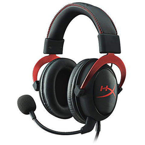 HyperX Cloud II Gaming Headset - 7.1 Surround Sound - Memory Foam Ear Pads - Durable Aluminum Frame