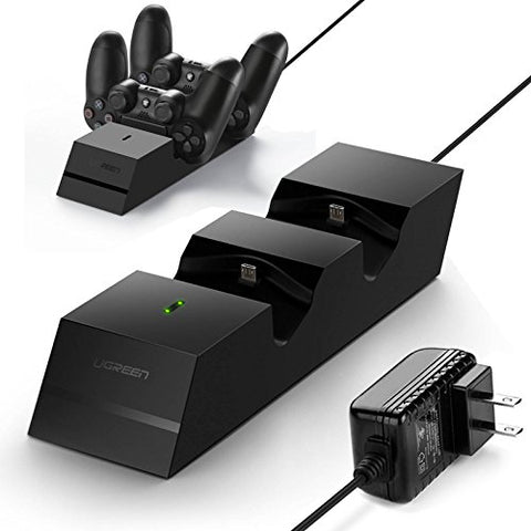 UGREEN Charger Charging Station Compatible for PS4 Controller 2.5 Hours Full Charge