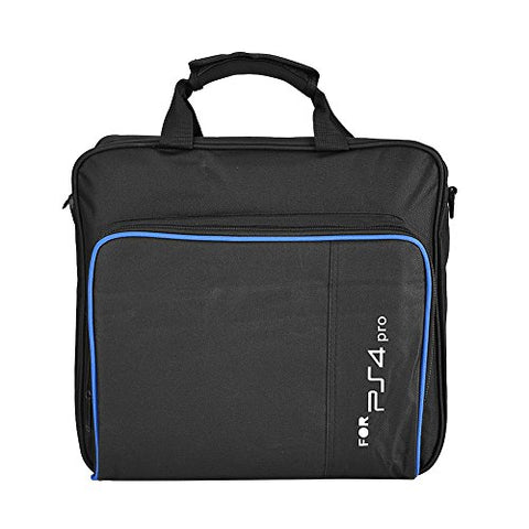 PS4 Pro Carrying Case Bag, Waterproof Shockproof Game System Protective Travel Case