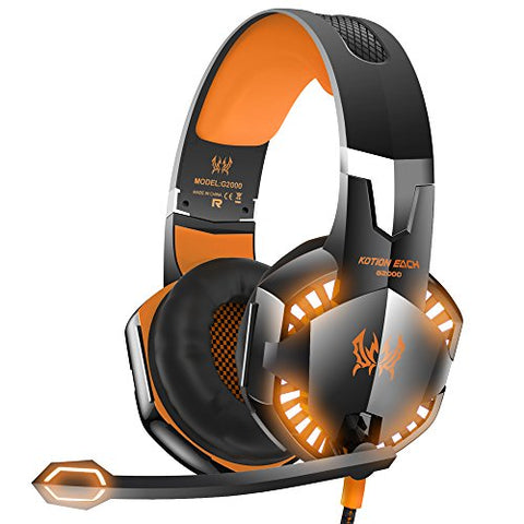 VersionTECH. G2000 Stereo Gaming Headset for Xbox one PS4 PC,