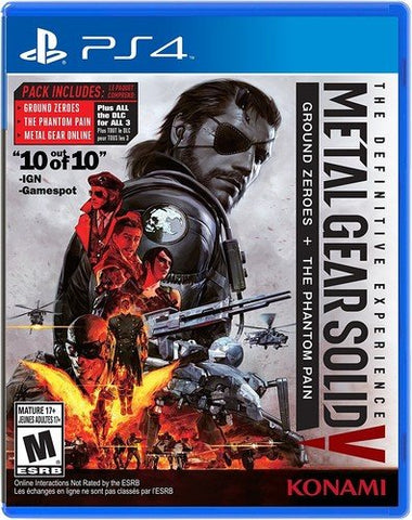 Metal Gear Solid V: The Definitive Experience - PlayStation 4 Standard Edition: