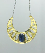 Load image into Gallery viewer, Kyanite Geometric Necklace
