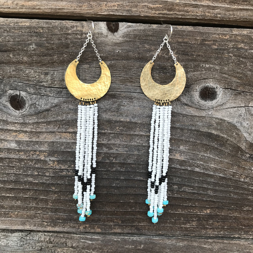South West Beaded Earring