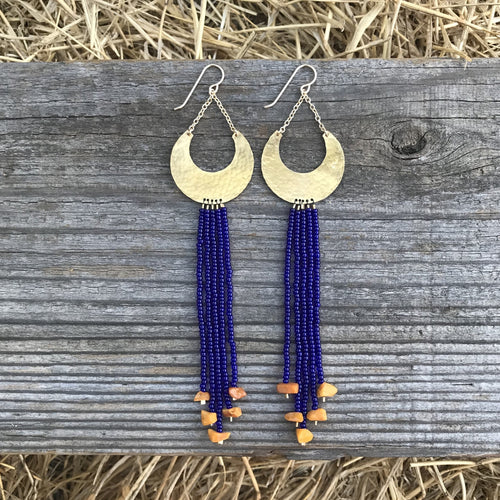 Big Sky Beaded Earring