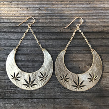 Load image into Gallery viewer, Cannabis Dangle Earring *NEW*