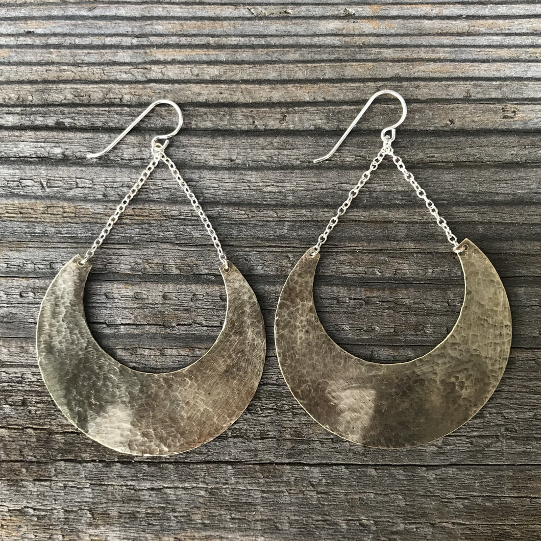 Hammered Dangle Earring *NEW*