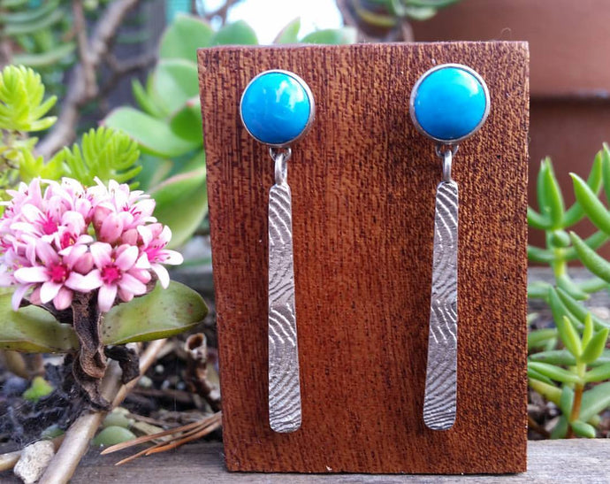 Ocean Meets Mountains Earrings