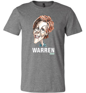 WARREN 2020 TEE - PLAYING POLITICS