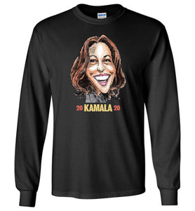 KAMALA 2020 LONG SLEEVED TEE - PLAYING POLITICS