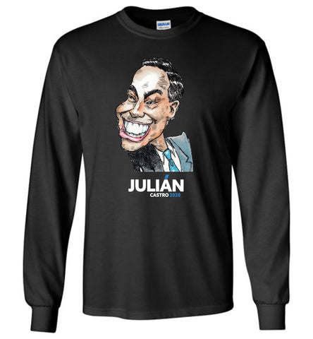 JULIAN 2020 LONG SLEEVED TEE - PLAYING POLITICS