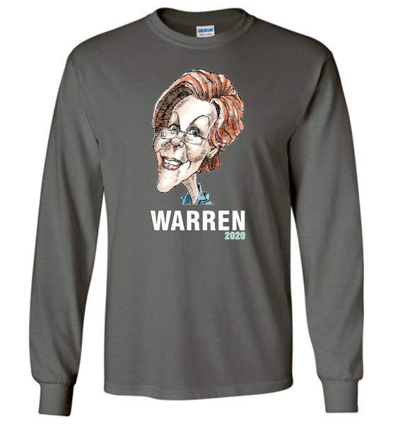 WARREN 2020 LONG SLEEVED TEE - PLAYING POLITICS