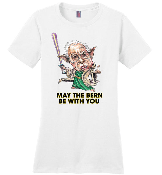 MAY THE BERN BE WITH YOU TEE-TEES-PLAYING POLITICS