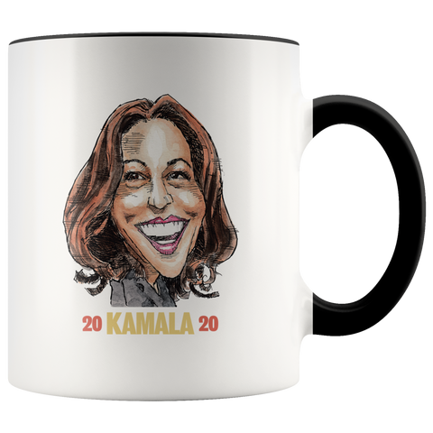 KAMALA HARRIS 2020 COFFEE MUG - PLAYING POLITICS
