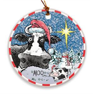 @DEVINCOW ORNAMENTS-ORNAMENT-PLAYING POLITICS