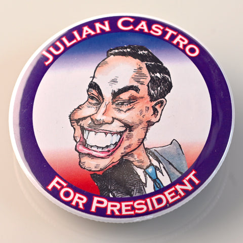 JULIAN CASTRO BUTTON - PLAYING POLITICS