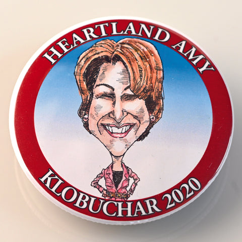 AMY KLOBUCHAR BUTTON - PLAYING POLITICS