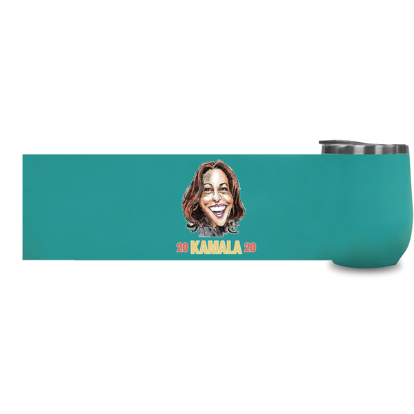 KAMALA 2020 WINE TUMBLER - PLAYING POLITICS