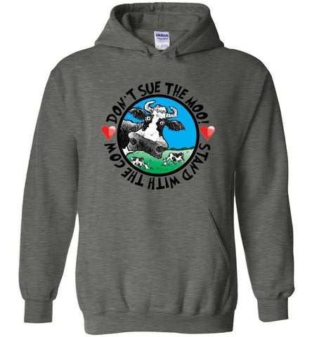@DEVINCOW DON'T SUE THE MOO HOODIE-HOODIES-PLAYING POLITICS